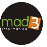 logotipo mad3 informatica